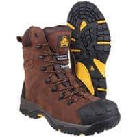 Amblers Safety AS995 PILLAR Waterproof Safety Footwear Brown